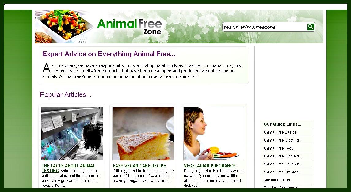 Animal Free Zone