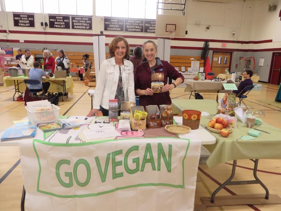 Joan and Julia at Souhegan Sustainability Fair