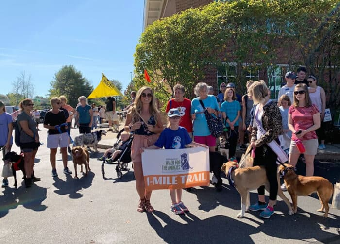 Pope Memorial Walk for the Animals